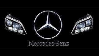 видео Mersedes-Benz представил новый светодиод для фар