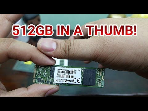 Transcend MTS800 M.2 SSD SATA III Review - Lots Of Storage From The Size Of A Thumb!