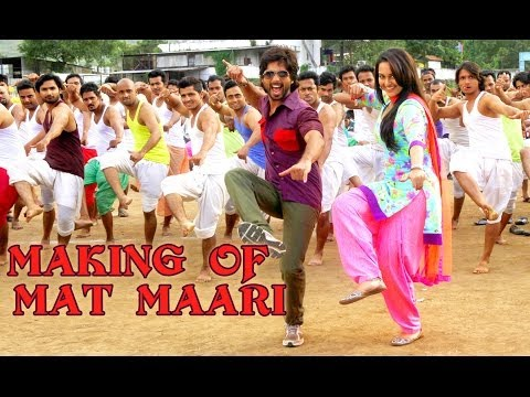 Mat Maari - Making Of The Song - R...Rajkumar Travel Video