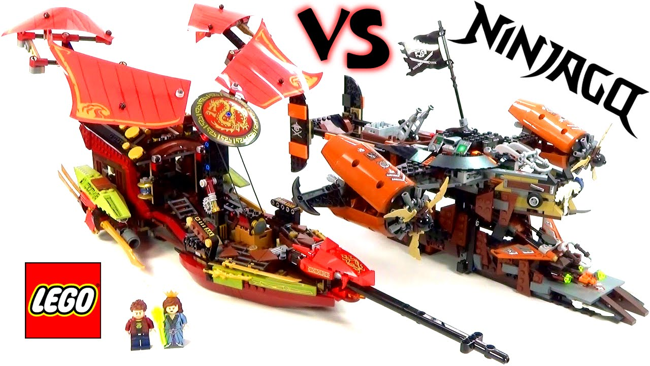 Lego ninjago destiny 39 s bounty vs misfortune 39 s keep battle - Ninjago vs ninjago ...
