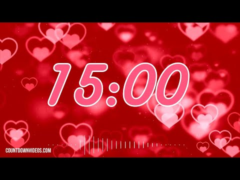 Valentine's Day ?15 Minute Timer With❤️Romantic Music