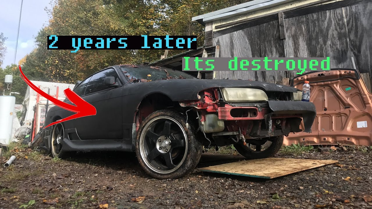 I repossessed a 240sx after years of sitting in a field..