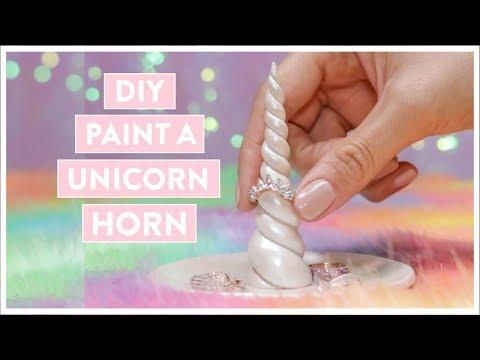 DIY Paint a Unicorn Horn