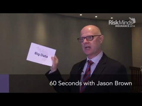 The risk world in 60 seconds with Jason Brown