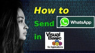 How to send WhatsApp messages in VBA / VB Script