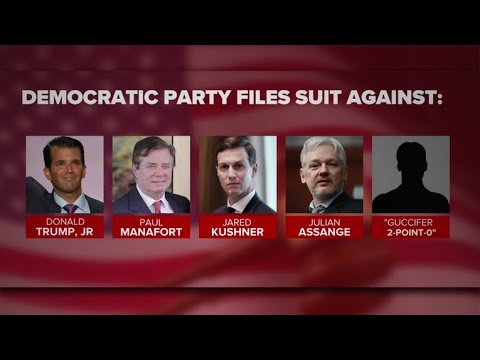 Democratic Party sues Trump campaign, Russia and WikiLeaks