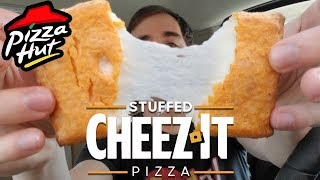 Pizza Hut STUFFED CHEEZ-IT™ PIZZA - Food Review #304