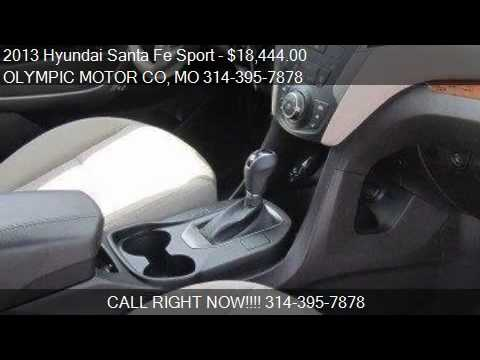 2013 Hyundai Santa Fe Sport 2 4l 4dr Suv For Sale In