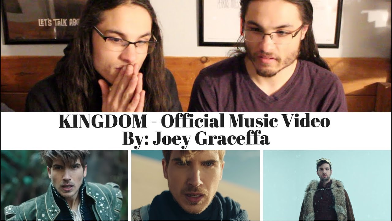 KINGDOM - Official Music Video | Joey Graceffa I Our Reaction! // TWIN WORLD