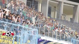 جماهير الزمالك تشعل ملعب بتروسبورت فى مباراة منية سمنود