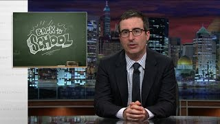 Back To School (Web Exclusive): Last Week Tonight with John Oliver (HBO) thumbnail