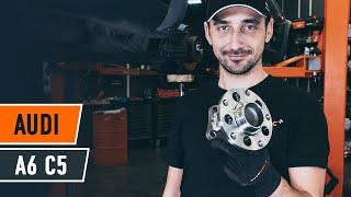 Instalação Kit rolamento roda dianteira e traseira AUDI A6: vídeo manual
