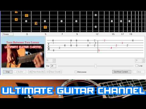 Guitar Solo Tab] Torn Between Two Lovers (Mary MacGregor) - YouTube