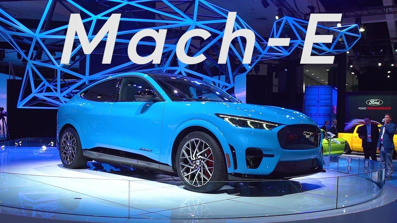 Car Show 2020.2019 La Auto Show 2020 Ford Mustang Mach E Consumer Reports