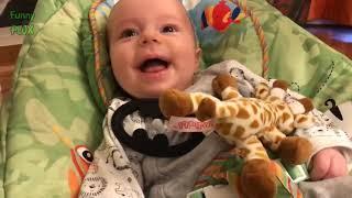Funny Babies laughing لعب اطفال و ضحك هستيري