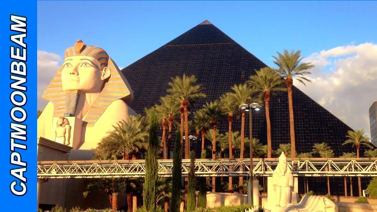 amazing luxor hotel las vegas nv, tower room - youtube