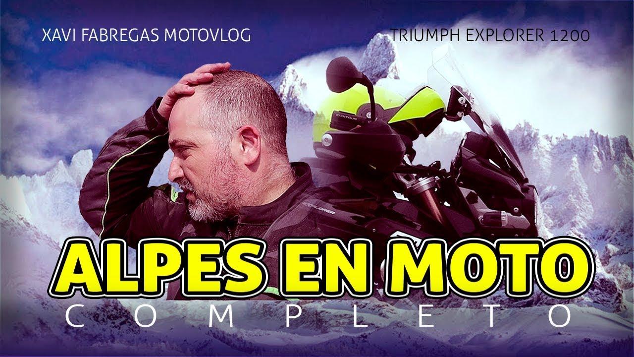 Ver 🎬 ALPES EN MOTO 2018 | La Película Completa 🍿 en Español