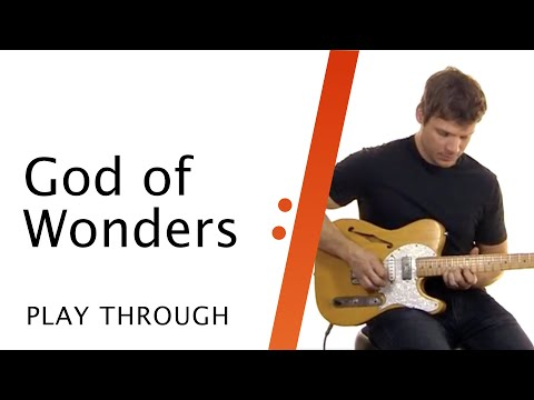 Lead Guitar Tutorial // God of Wonders // Paul Baloche