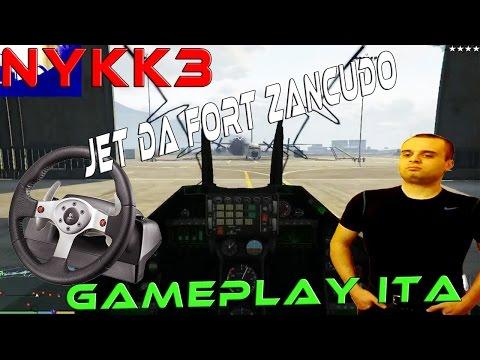 Jet Militare Da Fort Zancudo + Monte Chilliad + Volante - GTA 5 PC Cazzeggio