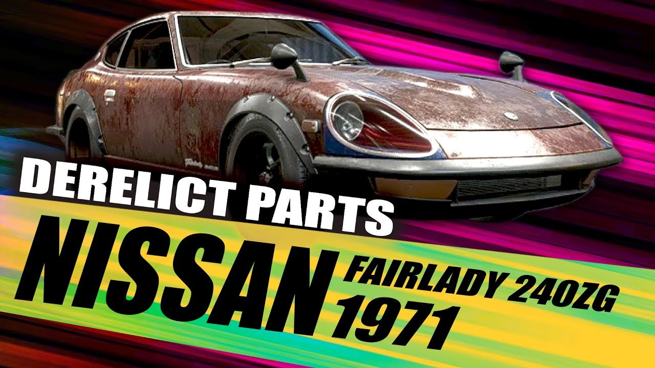 Nissan Fairlady 1971 Derelict Part Locations Need For Speed Payback Derelict Car Locations Youtube