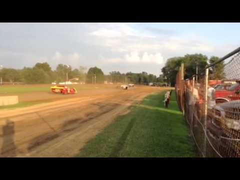 Paragon Speedway Super Stock Heat Race 7/18/15