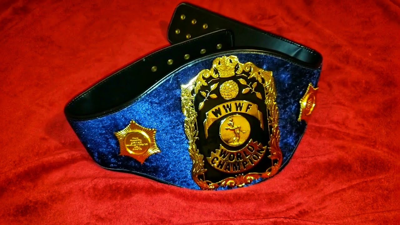 WWWF Bruno Sammartino championship Belt
