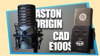 Aston Origin VS CAD e100S