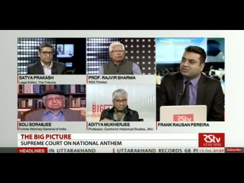 The Big Picture: Supreme Court Order on National Anthem
