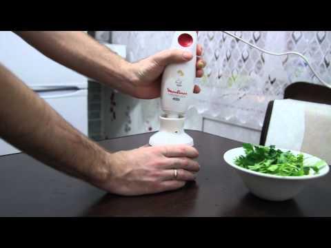 Как измельчить петрушку в блендере