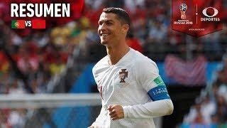 Resumen | Portugal 1 - 0 Marruecos | Mundial Rusia 2018