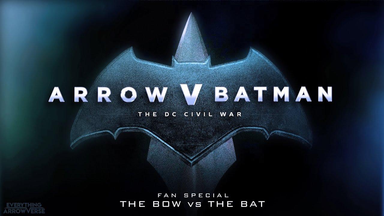 Download Arrow V Batman: The DC Civil War (Fan Made Trailer)