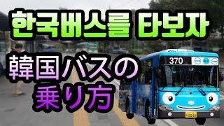 한국 버스는 다른나라와 뭐가 다를까? 버스종류 버스타는법