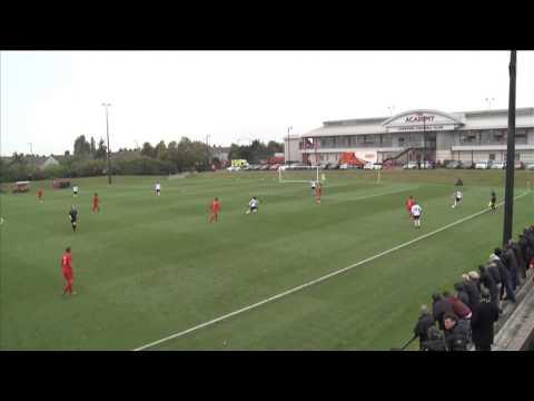 Liverpool 2-4 Fulham, Barclays U18 Premier League