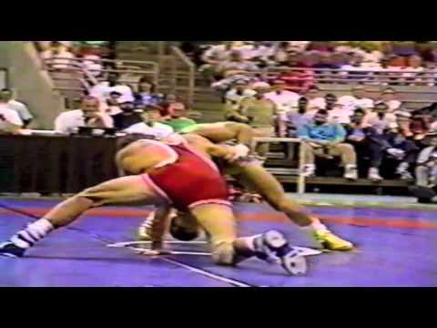 1988 Olympic Trials Qualifier: 62 kg Randy Lewis vs. John Smith Match 2