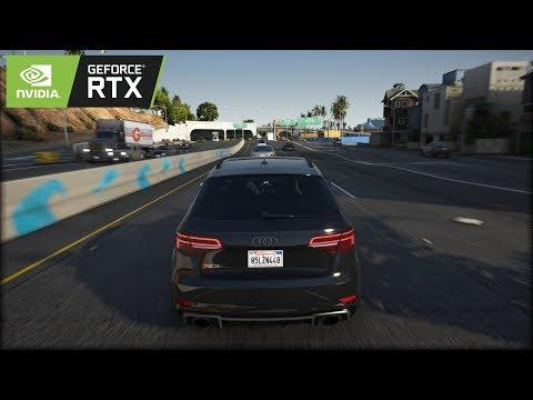 ◤ GTA V 8k Resolution ✪ Audi RS3 2019 - BRUTAL Sound 🔥 GEFORCE RTX™ 2080 Ti & i9-9900k
