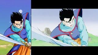 DOKKAN VS ANIME!!! NEW TRANSFORMING ULTIMATE GOHAN SUPER ATTACKS COMPARISON!! - DBZ Dokkan Battle