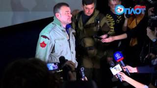 Михаил Пореченков привёз в Донецк свой последний фильм 'Поддубный'