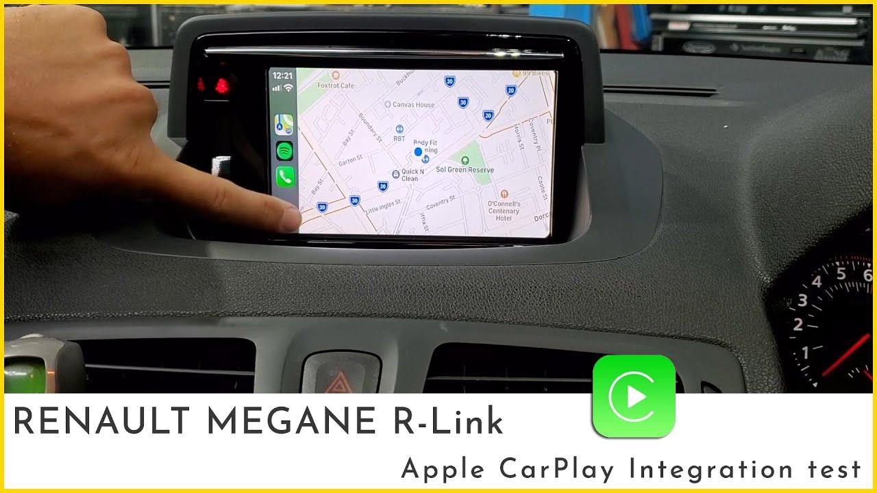 apple carplay megane
