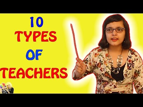 TYPES OF TEACHERS | #Bloopers Funny Video | Aayu and Pihu Show