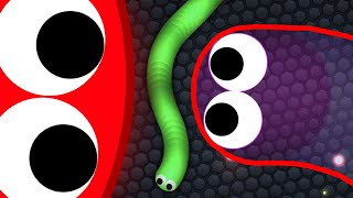 Slither.io 133,000+ Score Amazing Slitherio Gameplay (HACKER vs TROLL)
