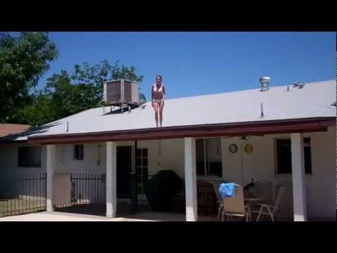 Amber's First Jump