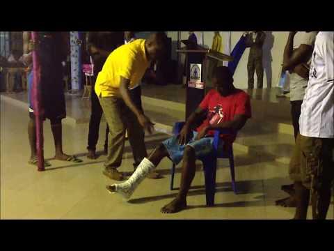 PROPHETE HOLY DAVID Abidjan:  miracle au M.I.T.G