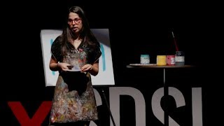 How My Art Went Viral and I Became a Full-Time Artist | Amanda Oleander | TEDxSDSU
