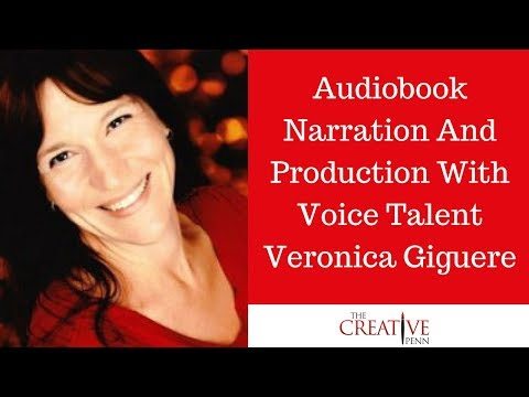 Audiobook Narration And Production With Voice Talent Veronica Giguere