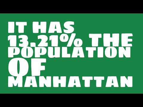 How does the population of North Las Vegas, NV compare to Manhattan?