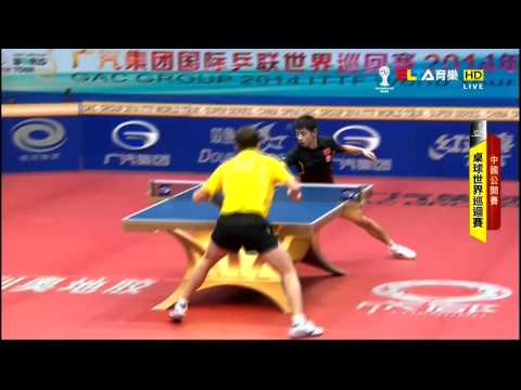2014 China Open (ms-sf) XU Xin Vs Zhang Jike [HD] [Full Match/Chinese]