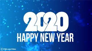 Happy New Year 2020 Social Media Post