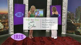 Iris García y Silu Scheffer en Women Voice Network TV show