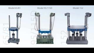 Lansmont Shock machine P122L OS. Long Shock./ Ударный стенд Lansmont. Удар с большой длительностью
