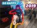 Little kid gets a Dirtbike for Christmas !!!